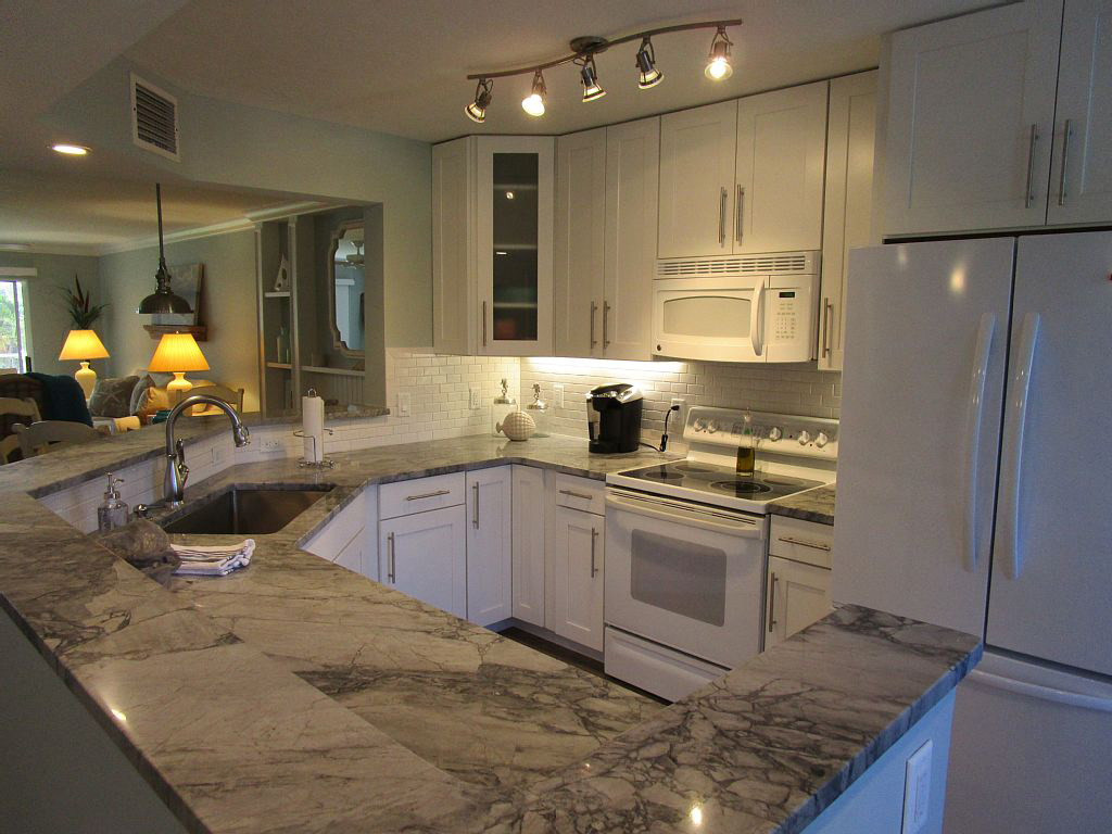Kitchen Remodel White Shaker Cabinets